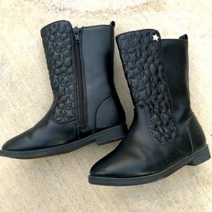 Black Boots (size 10 Girls)